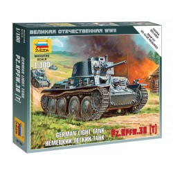 1:100 German Light Tank...