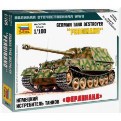 1:100 German tank destroyer...